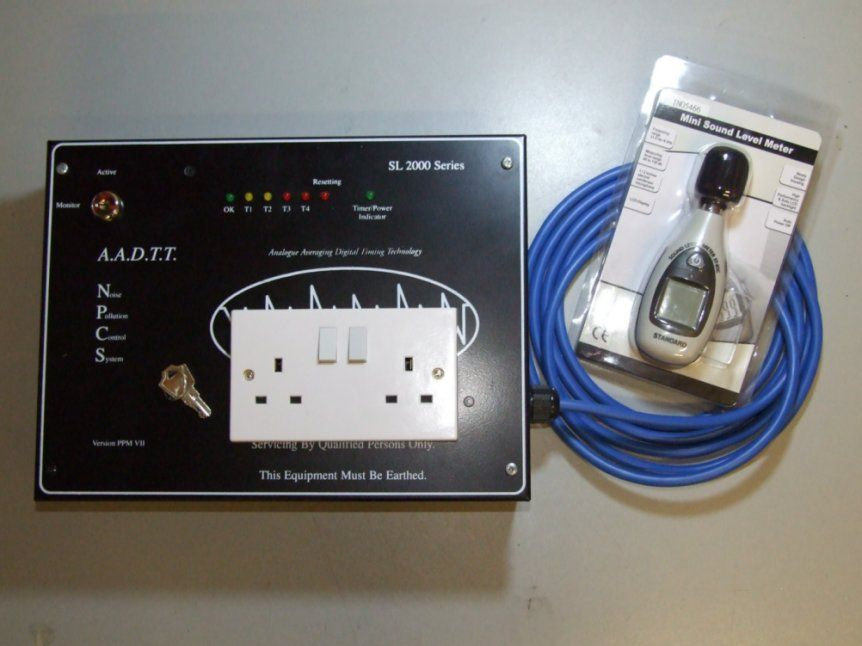 SL2000P Portable Sound Limiter