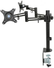 av:link DM212 Dual Monitor Desk Mount with Extension Arms - 129.523UK