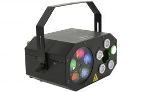 QTX Gobo Starwash Gobo Starwash Multi Light Effect - 151.606UK