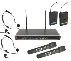 Chord NU4-C NU4-C Quad UHF System - Combo - 171.845UK
