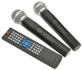 QTX PAV8-UHF PAV8 portable PA set + 2 UHF mics, CD/DVD, USB/SD & Bluetooth - 178.859UK