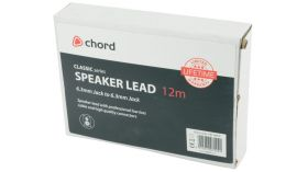 Chord SPJ-J1200 Classic Speaker Lead Jack - Jack 12.0m - 190.186UK