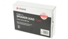 Chord SPK-J1200 Classic Speaker Lead Speaker Plug - Jack 12.0m - 190.190UK