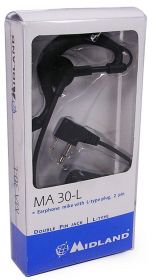 Midland Midland MA30-L Earphone Mic - 270.511UK