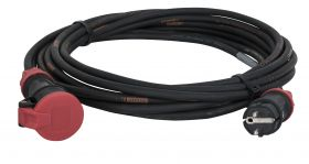 Showtec Ext. Cable Schuko/Schuko 20mtr 3x2.5mmý Lineax with PCE
