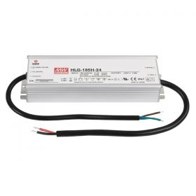 Meanwell LED Power Supply IP67 24V 185W Meanwell (HLG-185H-24)