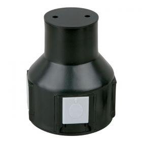 Artecta Mounting sleeve 011 PVC  48mm sealed bottom 98mm depth