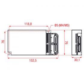 Eldoled DualDrive AC50W c-current DL0560A1  Dali  x2 ballast