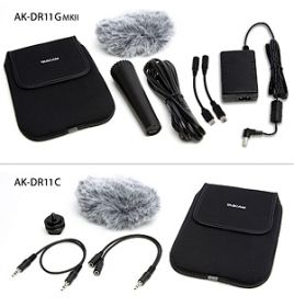 Tascam AK-DR1 Accessory Pack for DR1 and GTR1