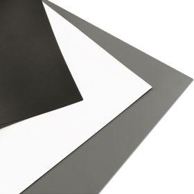 Rosco 300087237903, Dance floor, Black & White, 2m width, per Linear Metre