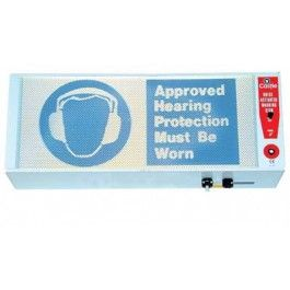 Castle Group GA902 Noise Activated Warning Sign