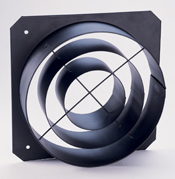 ETC PSF1035 Source 4 PAR Concentric Ring Top Hat, Black