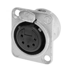 Neutrik XLR 5-Pin Female Chassis Socket NC5FDL1