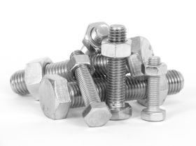 Doughty F833 - Bolts, Hexagonal Set Screw, M12 x 35mm, Per 100