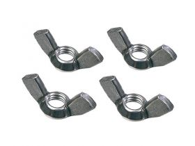 Doughty F879 - Wing Nuts M10, Per 100, Black