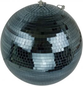 "FX Lab Black Mirror Ball Size 400mm (16"""")"