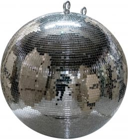 "FX Lab Professional Silver Mirror Ball with 10mm Facets and Fibreglass Core Diameter (mm) 750 (30"""")"