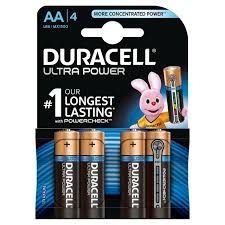 Duracell Ultra Power AA Pack of 4