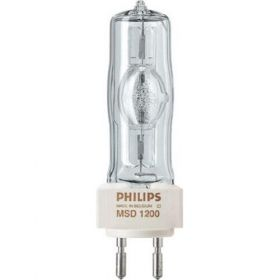Philips Theatre Lamp - MSR 1200 Metal Halide G22 - Single Ended