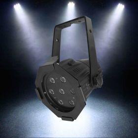 LEDJ Alu Par Compact 8500K (Black).