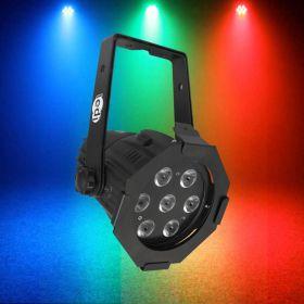 LEDJ Alu Par Compact Tri (Black).