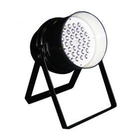 LEDJ Stage Par 64 Black (36 x 3W RGB).
