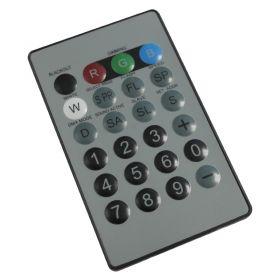LEDJ I.R. Remote For LEDJ Quad Colour Fixtures.