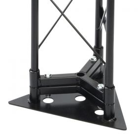 Showtec Base Plate for MDT Metal Deco-20 Triangle