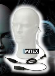MITEX - 2 wire Acoustic Earpiece with PTT