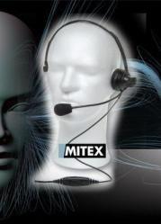 MITEX - Boom Overhead Headset with inline PTT