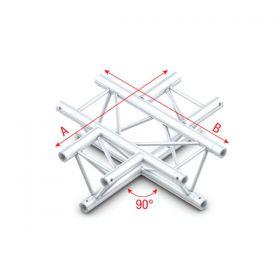 Milos 90ø 4-way horizontal Pro-30 Triangle P Truss