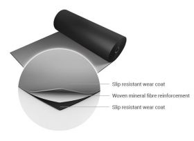 Harlequin Reversible Duo Pro Flooring - Black / White