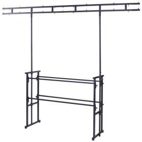 Rhino - Twin Bar 4'  Pro Disco Stand