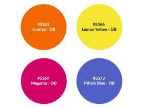 Rosco 150053003KIT Scenic Set - Intense Primaries - OB