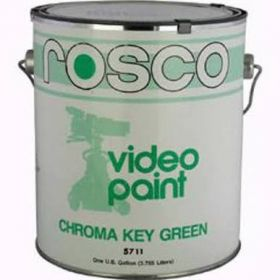 Rosco 57115 - Chroma Key Green Paint (5 US Gallons)