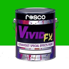 Rosco 52626217 Vivid FX Ultraviolet Deep Green paint (3.79lit)