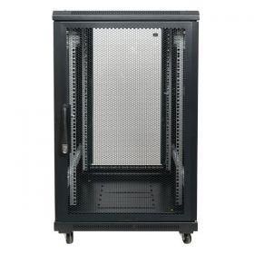 Showgear RCA-FSG-22  22U Network Cabinet, Glass Door