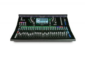 Allen & Heath SQ-6 48ch digital mixer, 96kHz, 24 Mic/Line 14 XLR out, 8FX, 25 faders, touchscreen, SLink & I/O Port