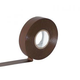 eLumen8 Economy PVC Insulation Tape 19mm x 33m - Brown