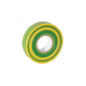 eLumen8 Economy PVC Insulation Tape 19mm x 33m - Yellow/Green