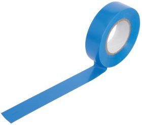 PVC Tape Roll 19mm x 20m - Blue
