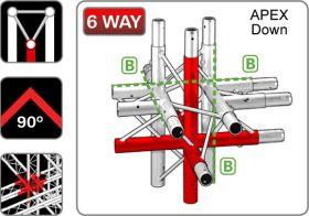 Trilite 2TRJ61  Triangular Truss Junction