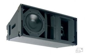 Martin Audio W8LMD - Three-way mini, vertically arrayable enclosure