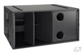 Martin Audio WLXGS - Hybrid horn and reflex loaded subwoofer