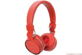 av:link PBH10-RED Wireless Bluetooth Headphones Red - 100.552UK