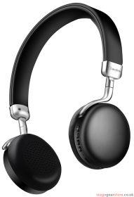 av:link NEO-BLK Metallic Bluetooth Headphones Black - 100.565UK