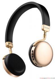 av:link NEO-GLD Metallic Bluetooth Headphones Gold - 100.568UK