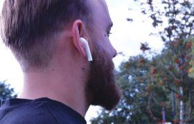av:link Ear Shots True Wireless Earphones & Power Case White - 100.575UK