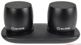av:link Sound Shots True Wireless Portable Bluetooth Speakers - 100.620UK