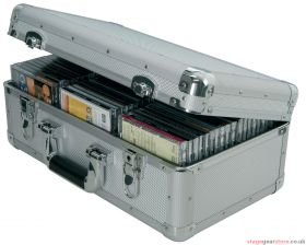 Citronic CDA:60 Aluminium CD flight case, 60 CDs - 127.058UK